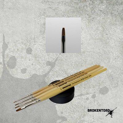 Brokentoad MK2 Flat Head Series 2 penseel