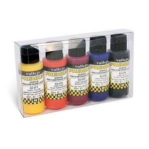 Vallejo Premium Candy RC-Colors Set - 5 kleuren - 60ml - 62104