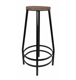 Kitchen Trend barstool, black