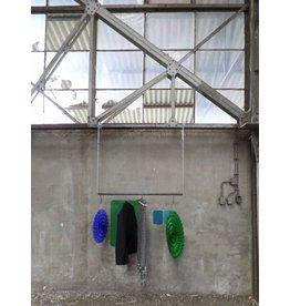 Stoer Metaal kledingrek, hangend