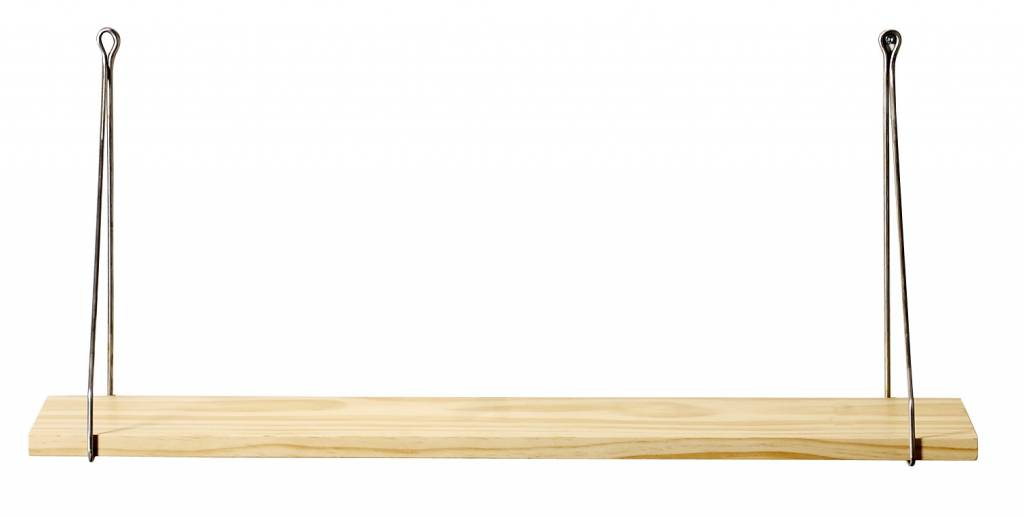 House Doctor goudkleurige plankdragers