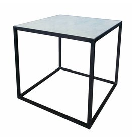 Stoer Metaal side table with marble top