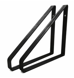 Stoer Metaal iron shelf supports, 21 or 31 cm