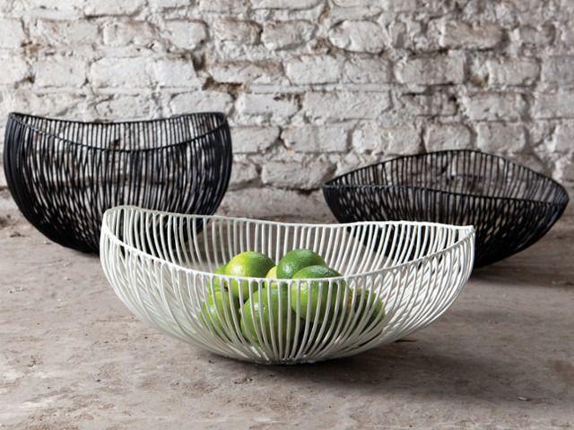 Serax fruit bowl Cesira, black
