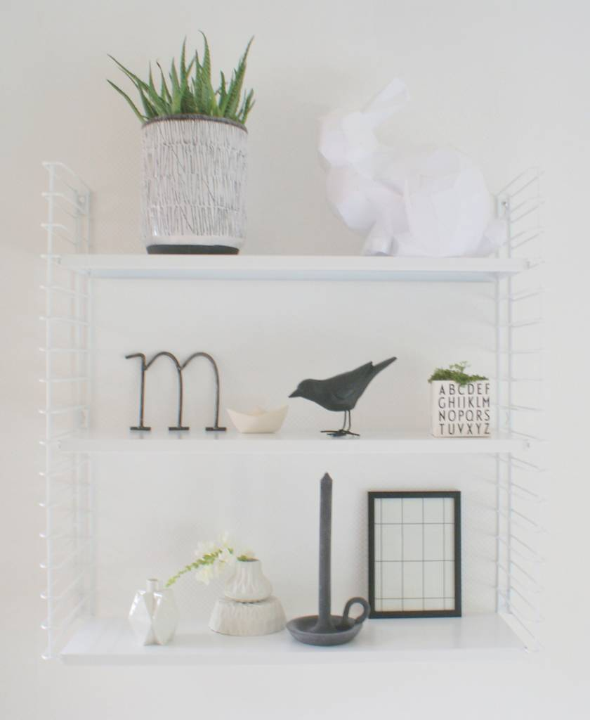 Tomado wall cabinet, white