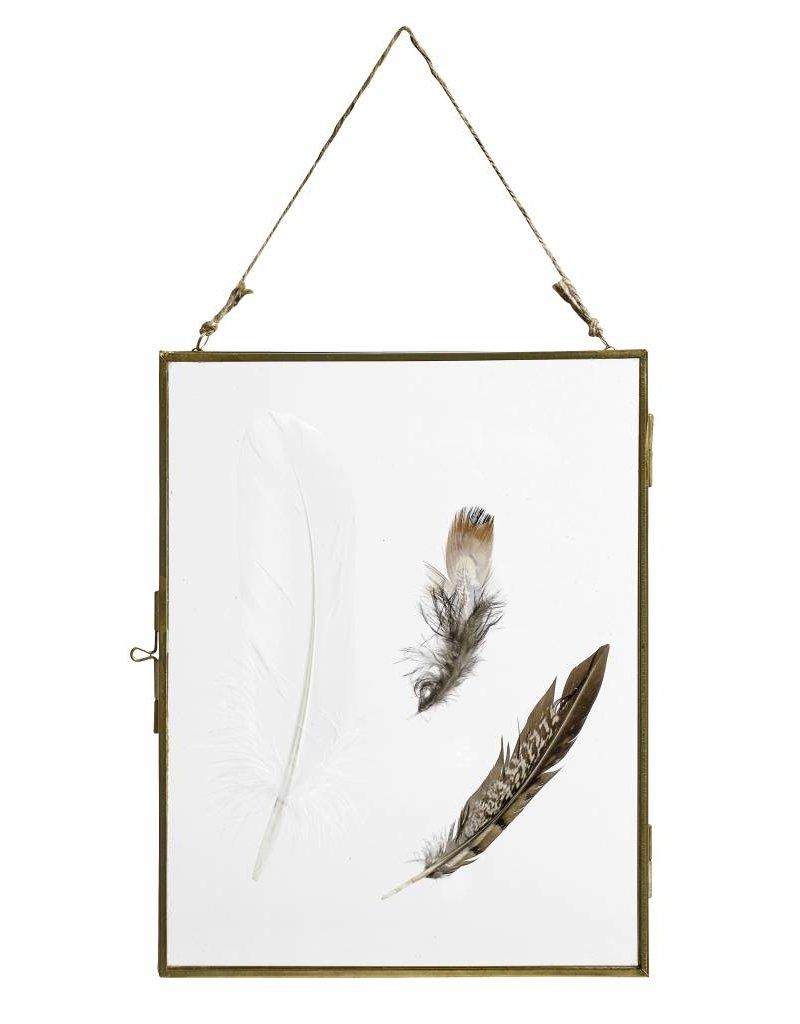 Nordal fotolijst, 20x26, gouden frame - Stoer Metaal