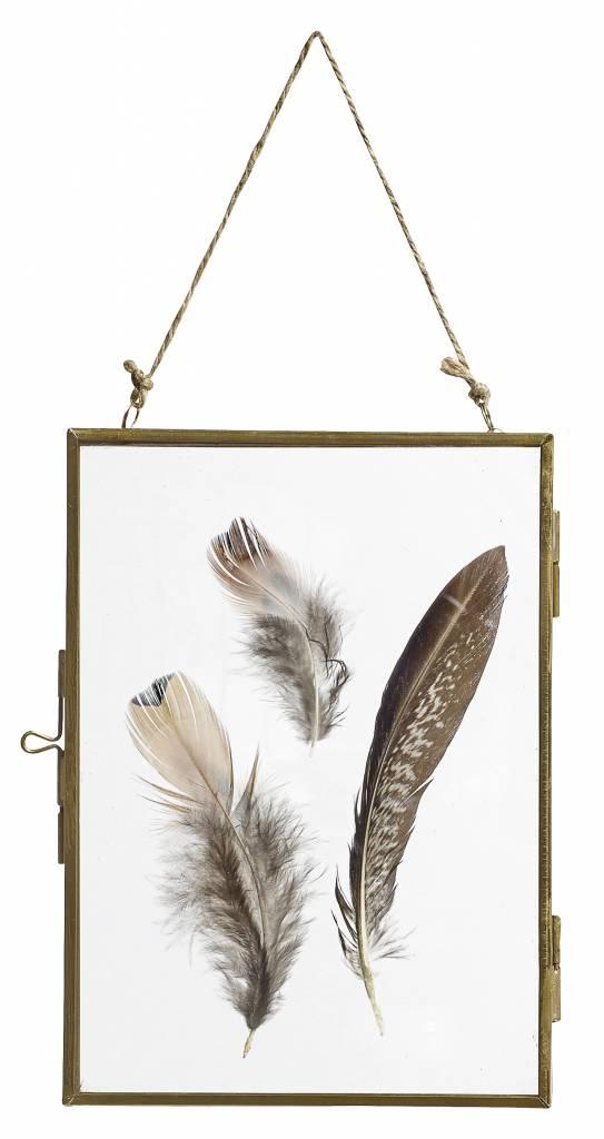 Nordal Frame, 13x18, gold