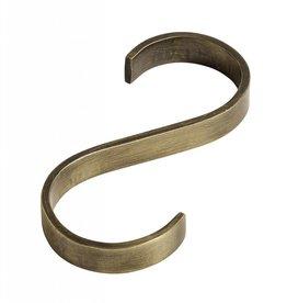 Nordal hook, S-shaped, golden