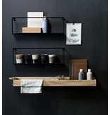 Woood wall shelf Meert, 50 or 100 cm