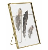 Nordal frame, standing, 15x18, gold