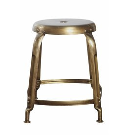 House Doctor stool, Define, brass