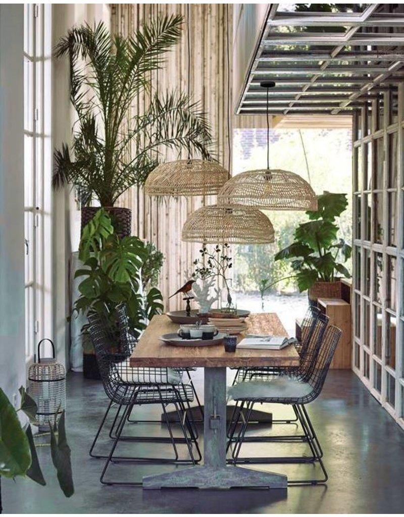 HK Living draadstoel, zwart