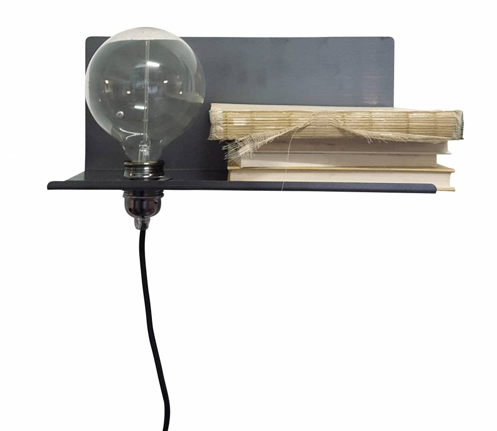 Stoer Metaal Peer wall lamp, left
