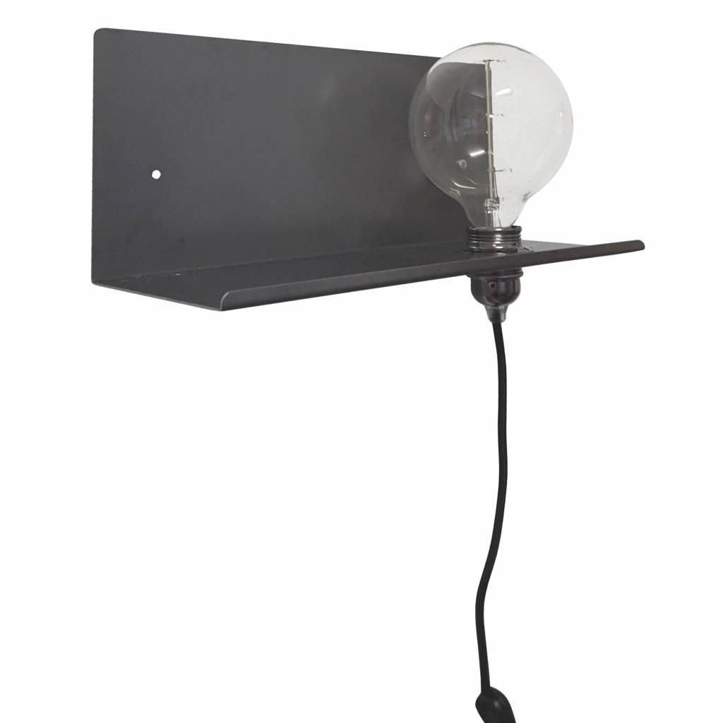 Stoer Metaal wall lamp Pear, right