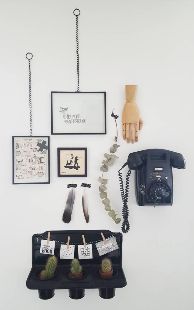 BePure fotolijst Xpose met ketting, 30x40