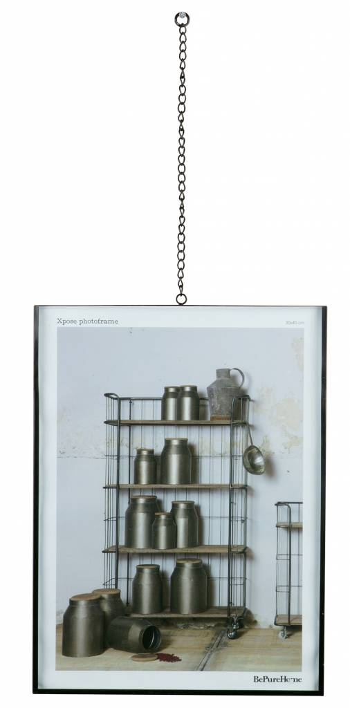 BePure photo frame Xpose chain, 30x40