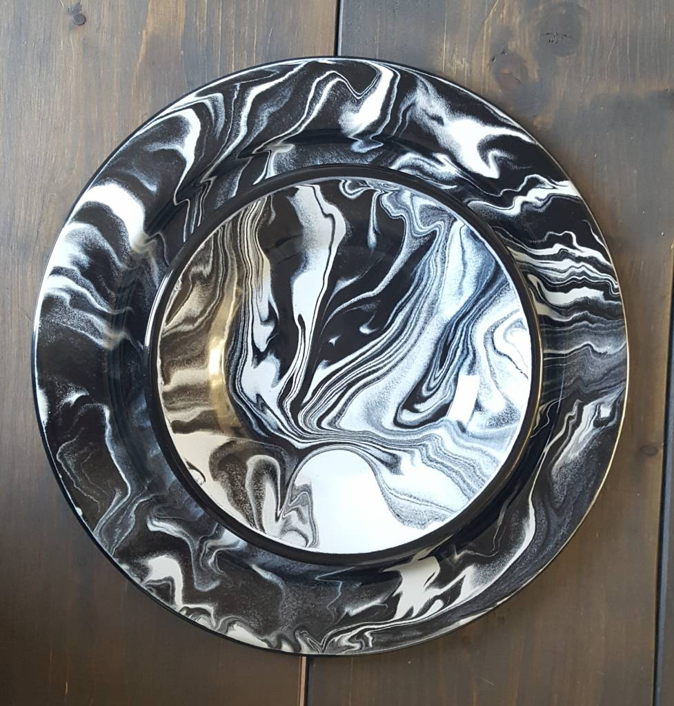 Bord Marble, ⌀21 of ⌀32 cm