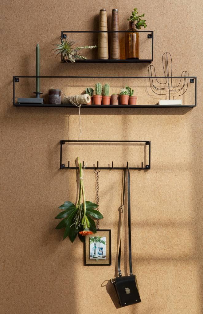 Woood wandplank Meert, 50 of 100 cm