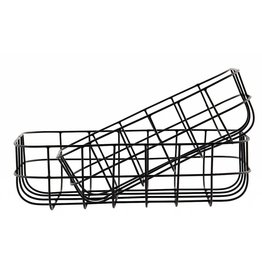 House Doctor Low wire basket Simply set