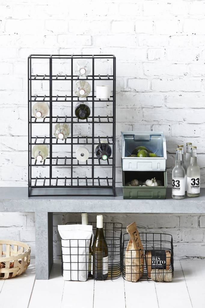 House Doctor Wire baskets Simply set