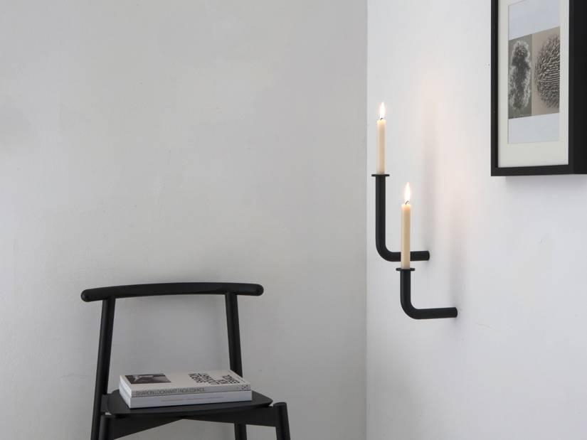Studio Frederik Roije wall chandeliers Wall of Flame