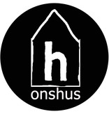 Onshus candle Vlam, black