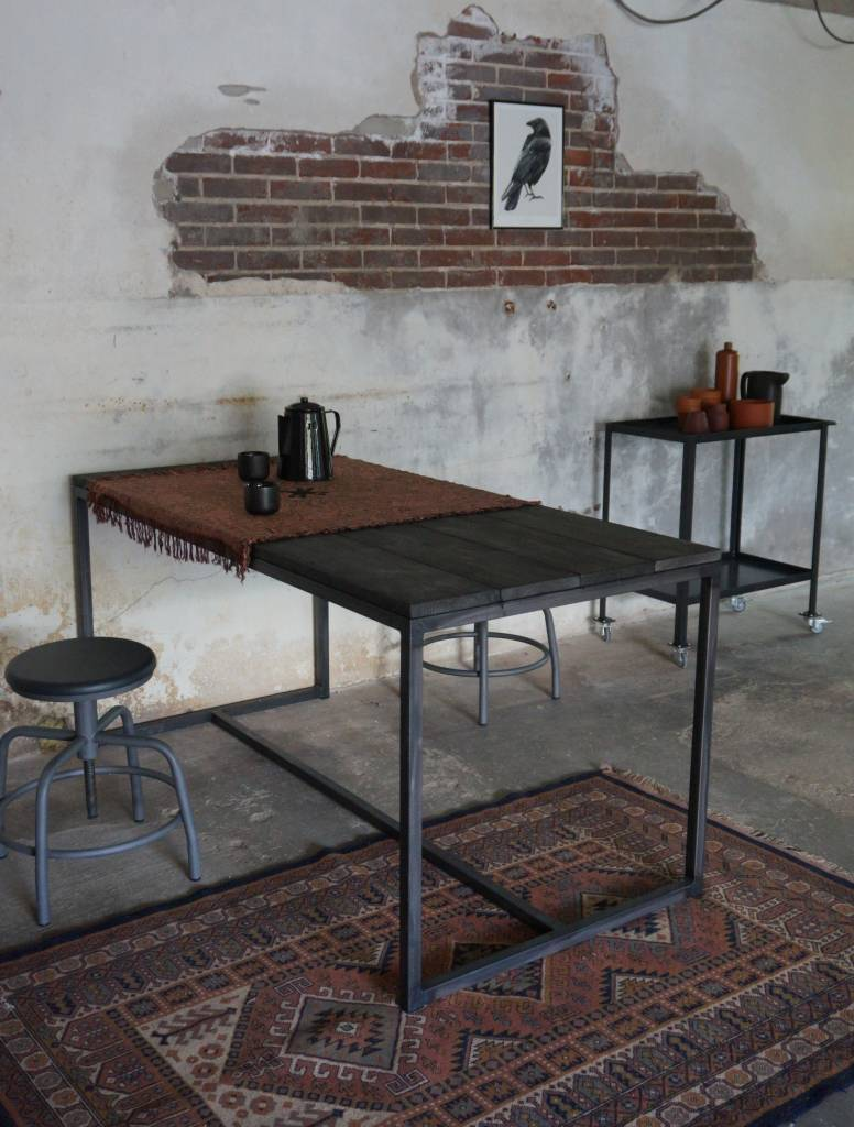 Stoer Metaal dining table Stoer14