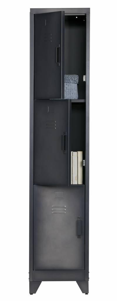 Woood metal cabinet Cas, 3 door
