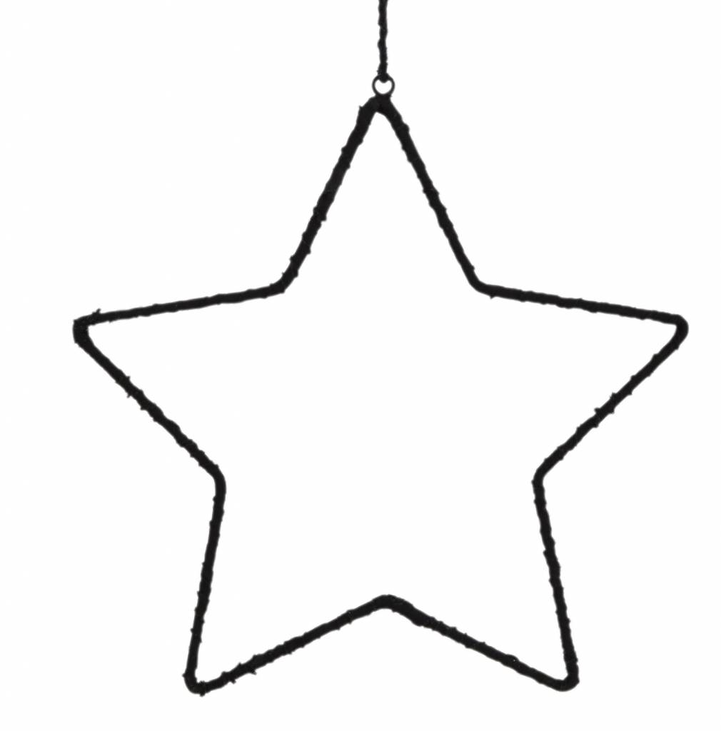 Madam Stoltz star, black, klien