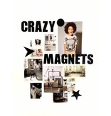 Groovy Magnets magnets, ABC, black