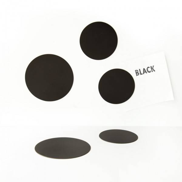 Groovy Magnets magnets, round black