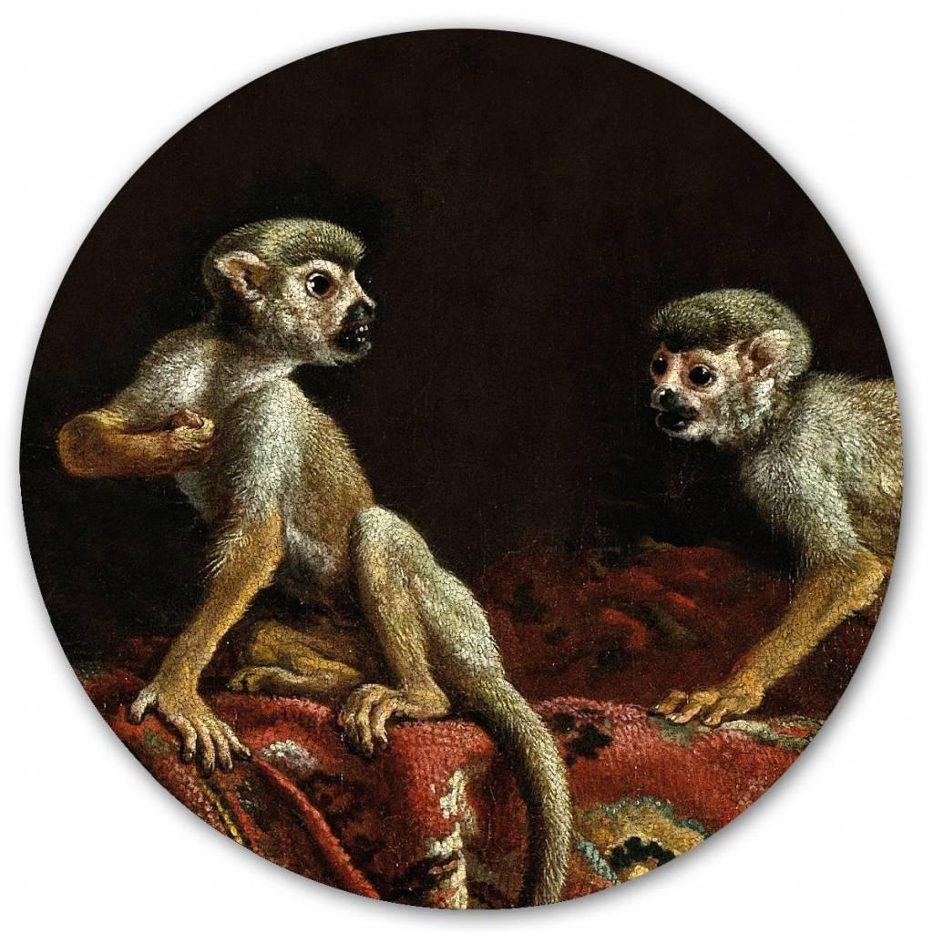 Groovy Magnets magnet sticker Two little monkeys, monkeys