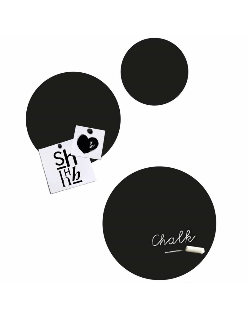 Groovy Magnets krijtbord magneetsticker, Circles