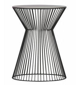 Woood side table Suus, black