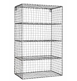 Madam Stoltz wire iron wall rack
