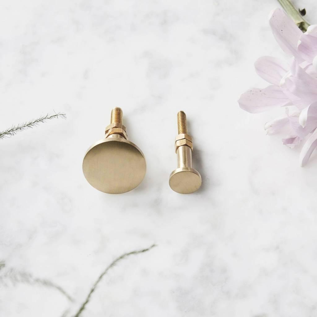 House Doctor brass knobs Brass, brass knob Brass, 3 cm