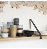 Stoer Metaal shelf supports metal color, 21 or 31 cm