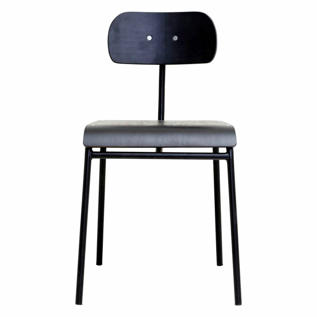 House Doctor dining chair School, black