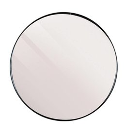 LifeStyle mirror Juma, round, black