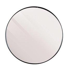 LifeStyle spiegel Juma, rond, zwart
