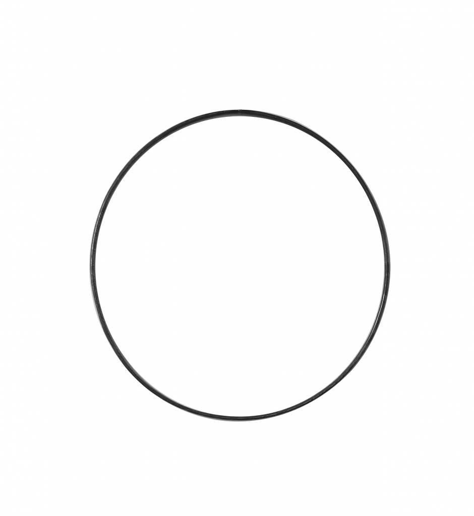 Stoer Metaal ring, metal ⌀ 22 cm