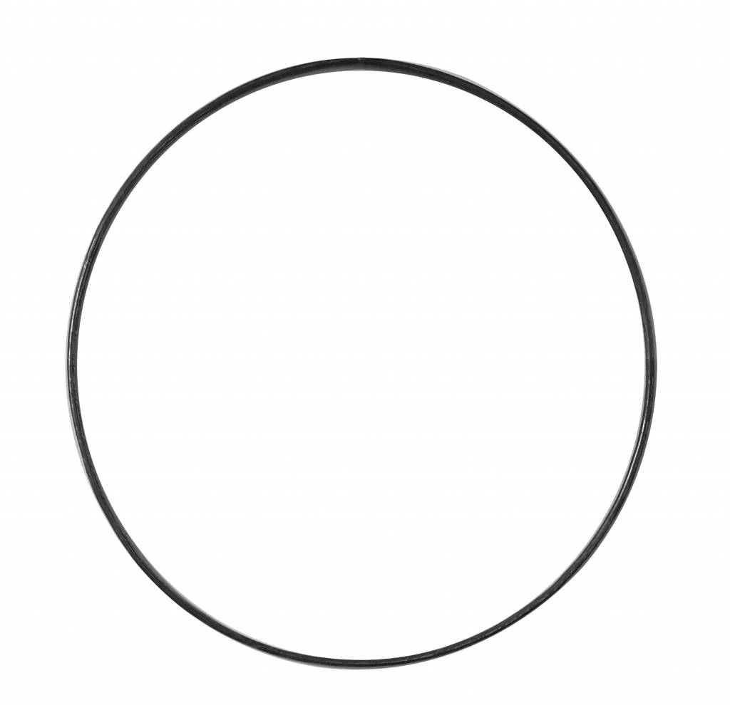 Stoer Metaal ring, metal ⌀ 45cm