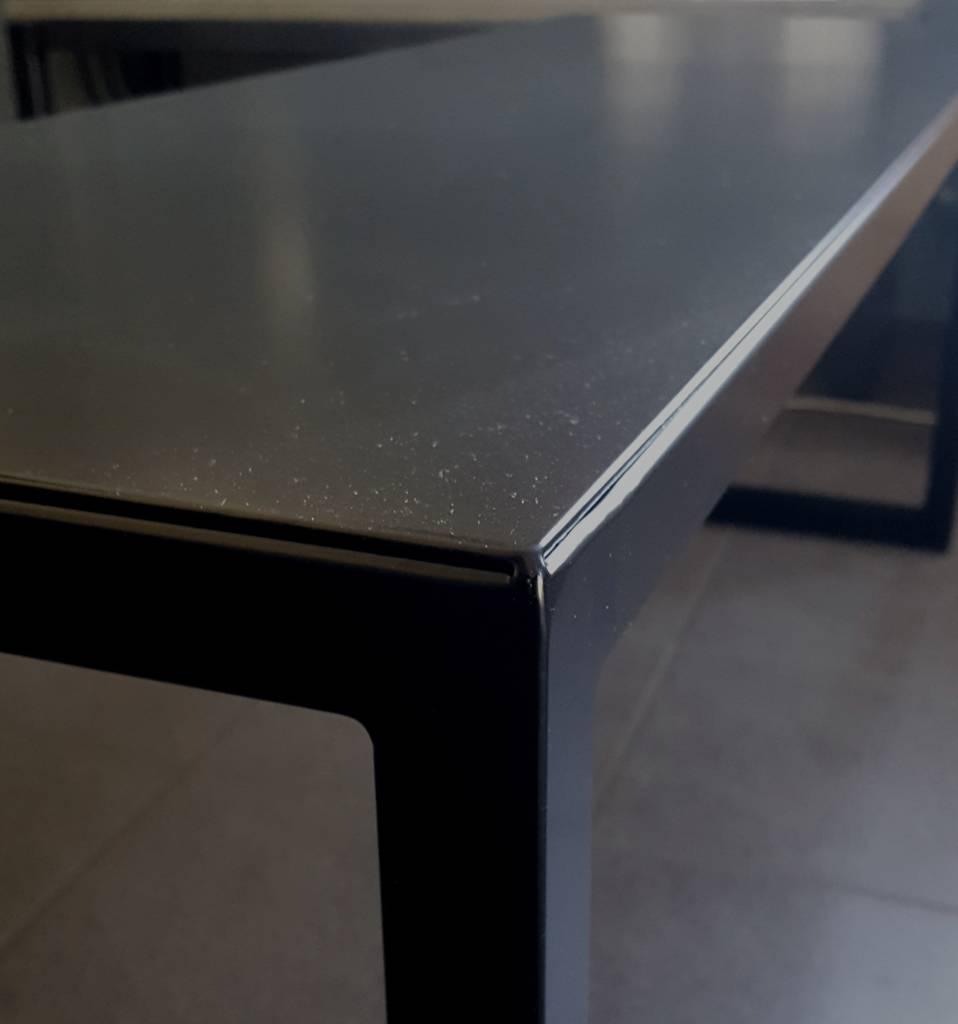 Stoer Metaal black, iron bench Tough40