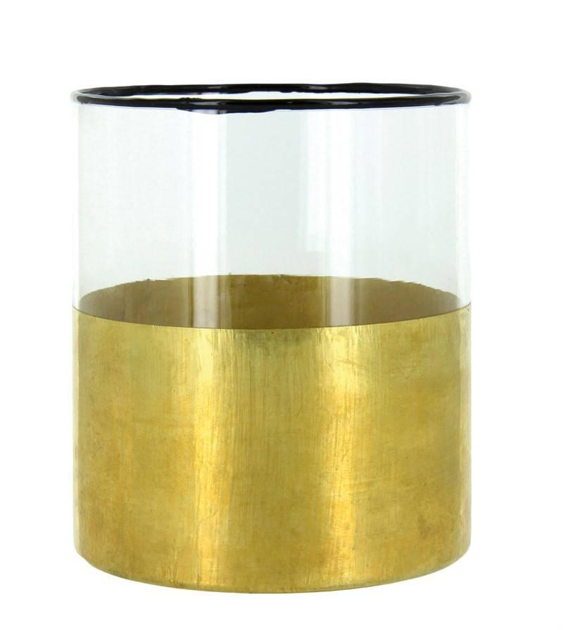 LifeStyle windlicht Samaki, goud