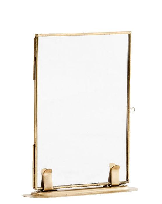 Madam Stoltz picture frame, 10x15, gold - Stoer Metaal