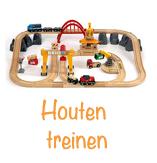 Houten treinen