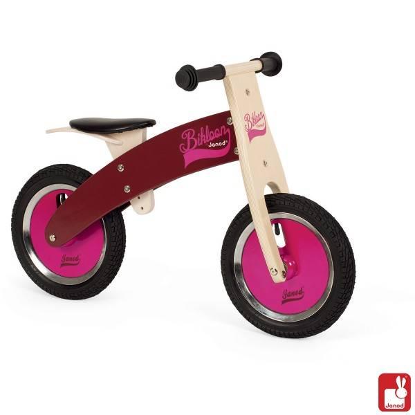 Janod Keuken Roze : Janod Loopfiets Bikloon roze/paars – Speelgoedwinkel PlanetHappy.nl