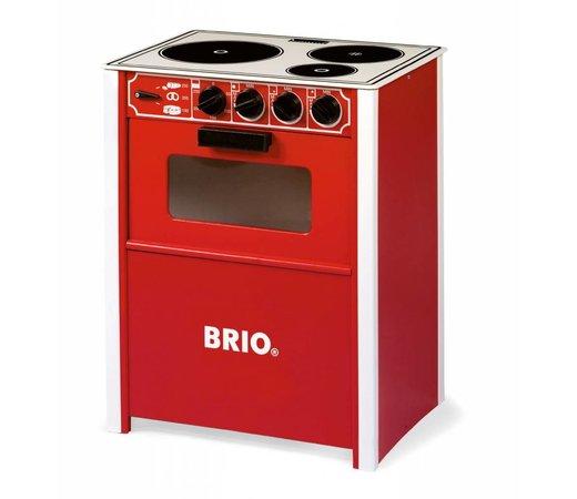 Janod Keuken Picnik : Brio 31355 Oven rood – Speelgoedwinkel PlanetHappy.nl
