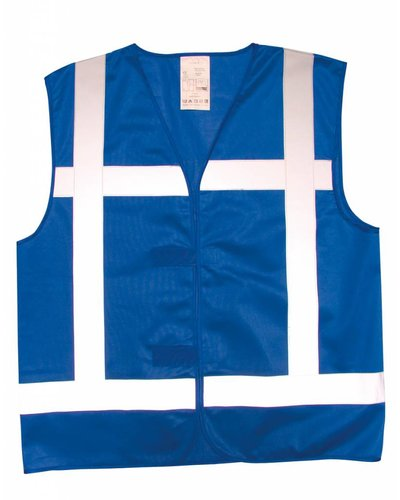 Tricorp Veiligheidsvest V-REF Blauw