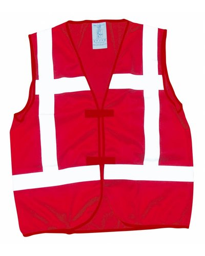 Tricorp Veiligheidsvest V-REF Rood